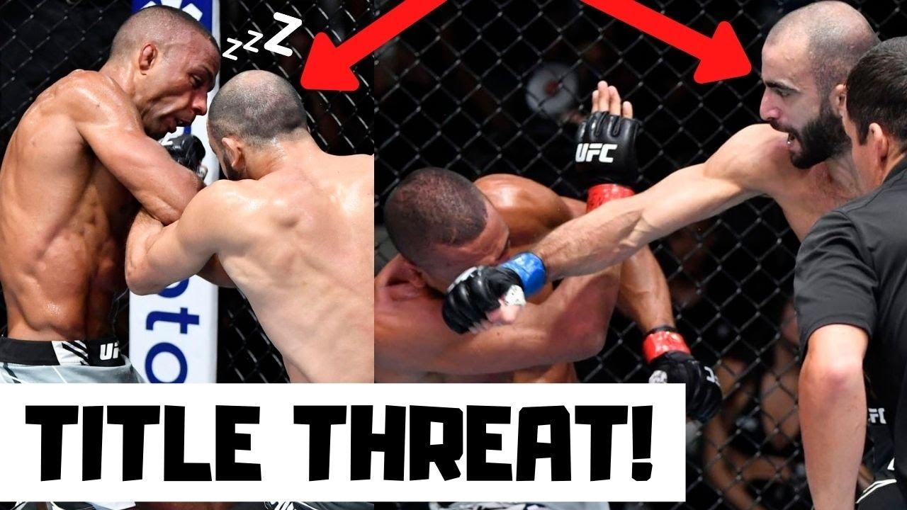 Giga Chikadze Defeats Edson Barboza in UFC Main Event