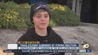 Transgender Student Surprised By Strong Reaction To Locker Room Situation