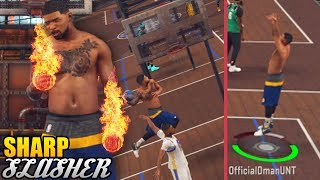Sharpshooter Cashing Out and Dunking Like A Slasher! NBA 2K17 MyPark