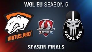 Virtus.Pro vs. Kazna Kru - WGLU Season Finals 2015 - World of Tanks