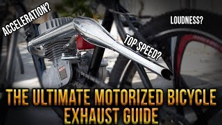 The Ultimate Motorized Bicycle Exhaust Guide - Best Exhaust 2019