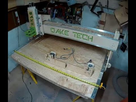 CNC Build DIY Homemade  from Wood