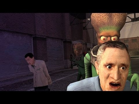 ALIENS!! - Garry`s Mod (Trouble in Terrorist Town) #20