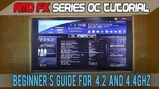 AMD FX-8320 (FX-4300/6300/8350 too) Beginner's Overclocking Tutorial