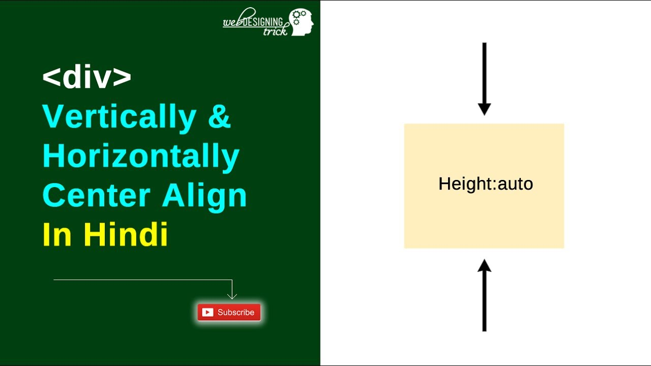 Div align vertical and horizontal with auto height in - Div horizontal align ...