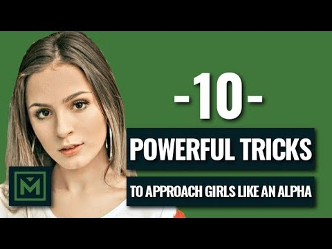 How to Approach a Girl Like an Alpha Male (Easily Do This)