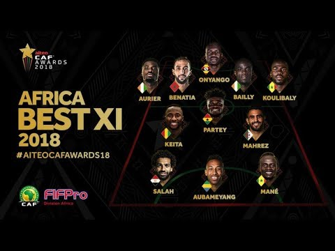 CAF AWARDS 2018 HIGHLIGHTS: SALAH RETAINS CROWN, ASSISAT LOSES OUT TO KGATLANA