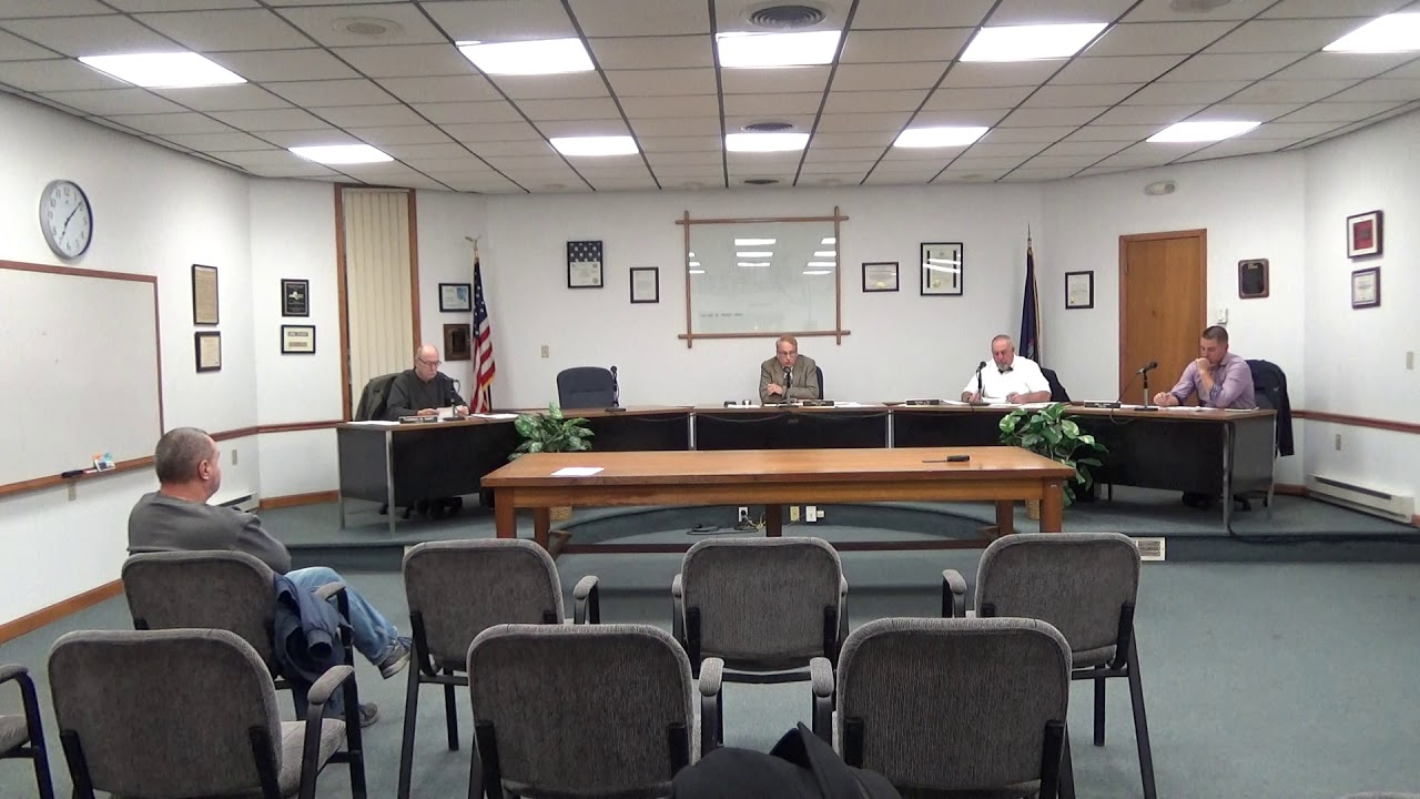 Rouses Point Village Board Meeting  12-2-19