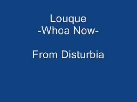 Disturbia *Whoa Now*