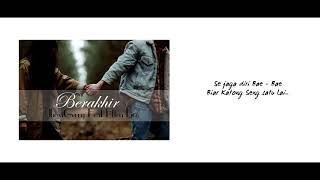 Berakhir-JhoviGerry feat Etten Lico Lirik