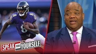 Jason Whitlock blames Lamar Jackson for Ravens' playoff loss to Chargers | NFL | SPEAK FOR YOURSELF