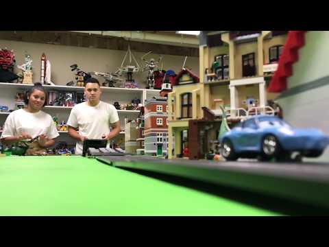 CARRERA GO SLOT CAR JUMPS AND CRASHES