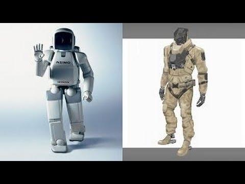 ASIMO vs PETMAN [Most Advanced Humanoid Robots] JAPAN vs USA