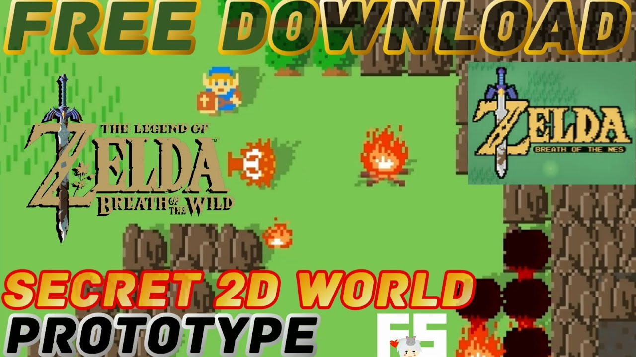 Breath of the Wild in 2D [Free PC Download] : Zelda - Breath of the NES