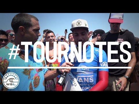 #TOURNOTES Filipe Toledo 2X US Open Champ!