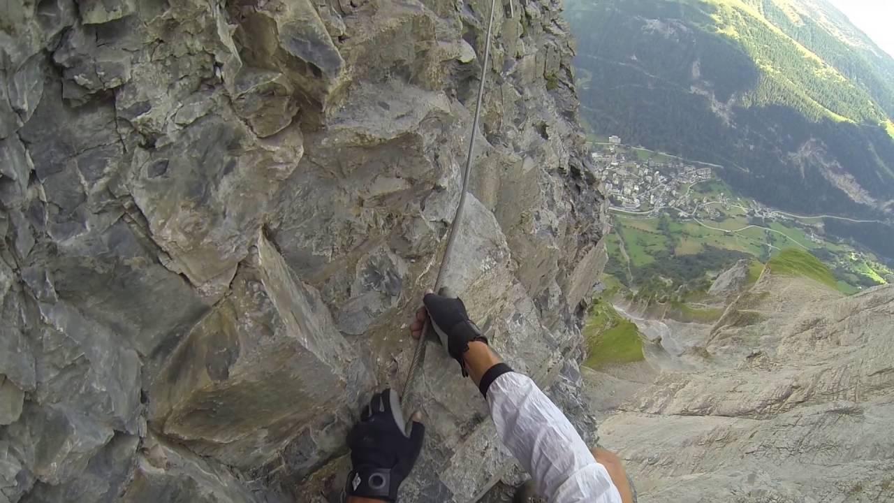 Klettersteig Leukerbad : Der klettersteig daubenhorn in leukerbad kann zurzeit noch nicht