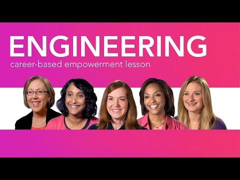 Engineering Careers: Career Girls Empowerment Lesson