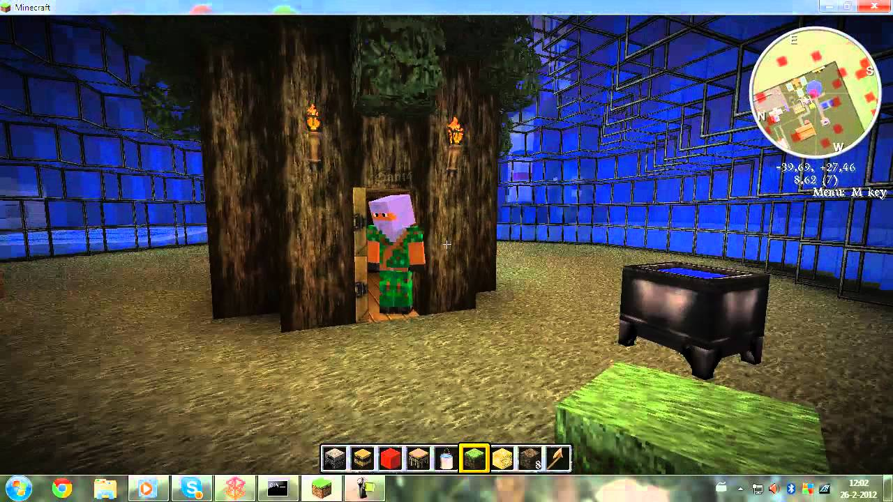 Snabbicraft Sandys House Spongebob Minecraft YouTube
