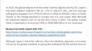 Global And China Automotive Industrial Robotics Industry Report 2013-2014
