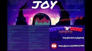 [ HARDDANCE & TWITCH ]  HAPPY'N'CORE 0 02 2021 mixed by JOY