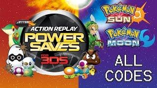 Download lagu Powersaves 3DS ALL Codes for Pokémon Sun and Moon as of 12 27 2016 Modify IVs EVs Natures MP3