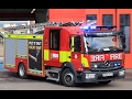 NEW London Fire Brigade Pumping appliance turnout