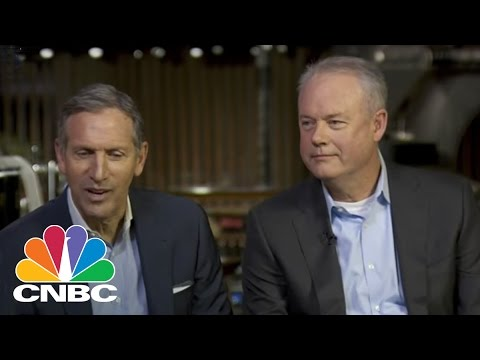 Howard Schultz: Starbucks Brand Not At Odds With Donald Trump | Squawk Box | CNBC