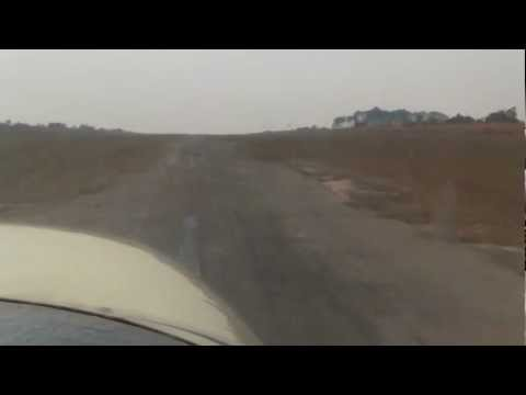 White Knuckle Takeoff - Rural African Airport