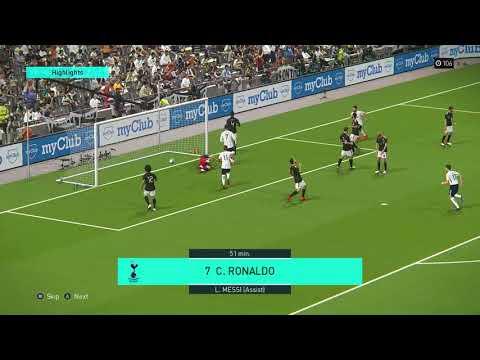 PES18 (PC) myclub online challenge game highlights