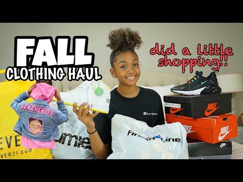 Fall Clothing Haul 2019 | LexiVee03