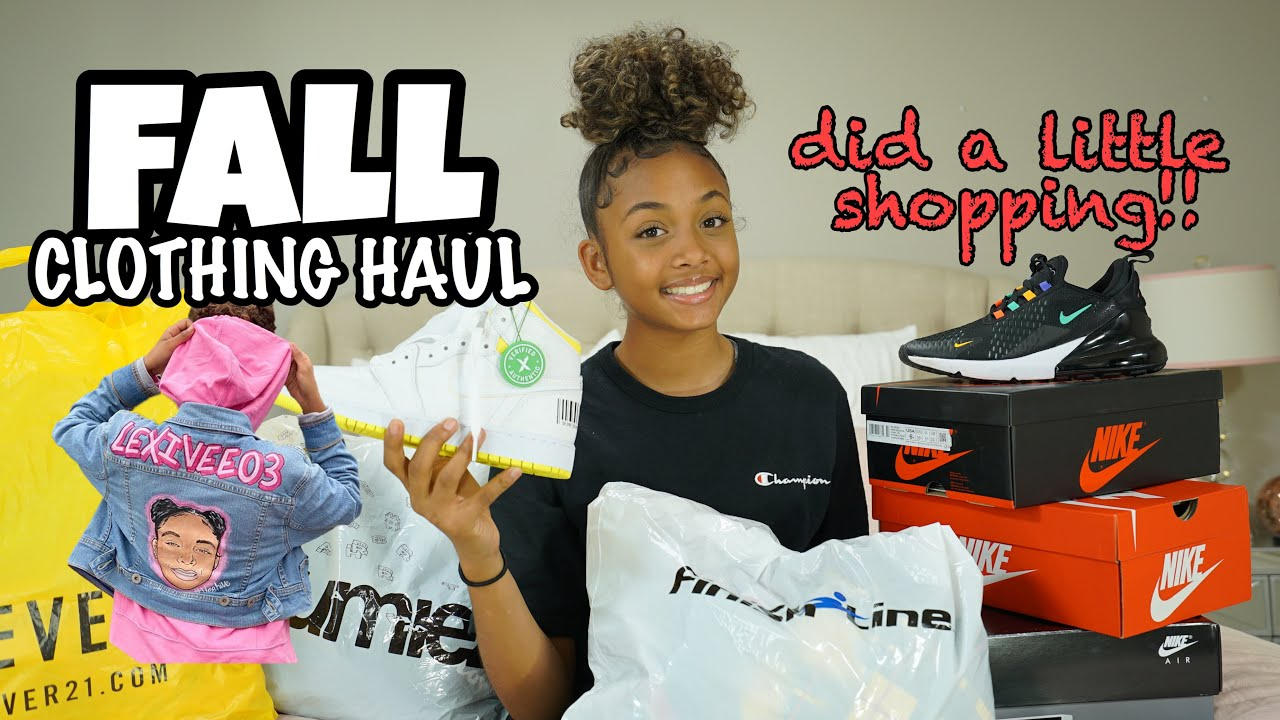 [VIDEO] - Fall Clothing Haul 2019 | LexiVee03 9