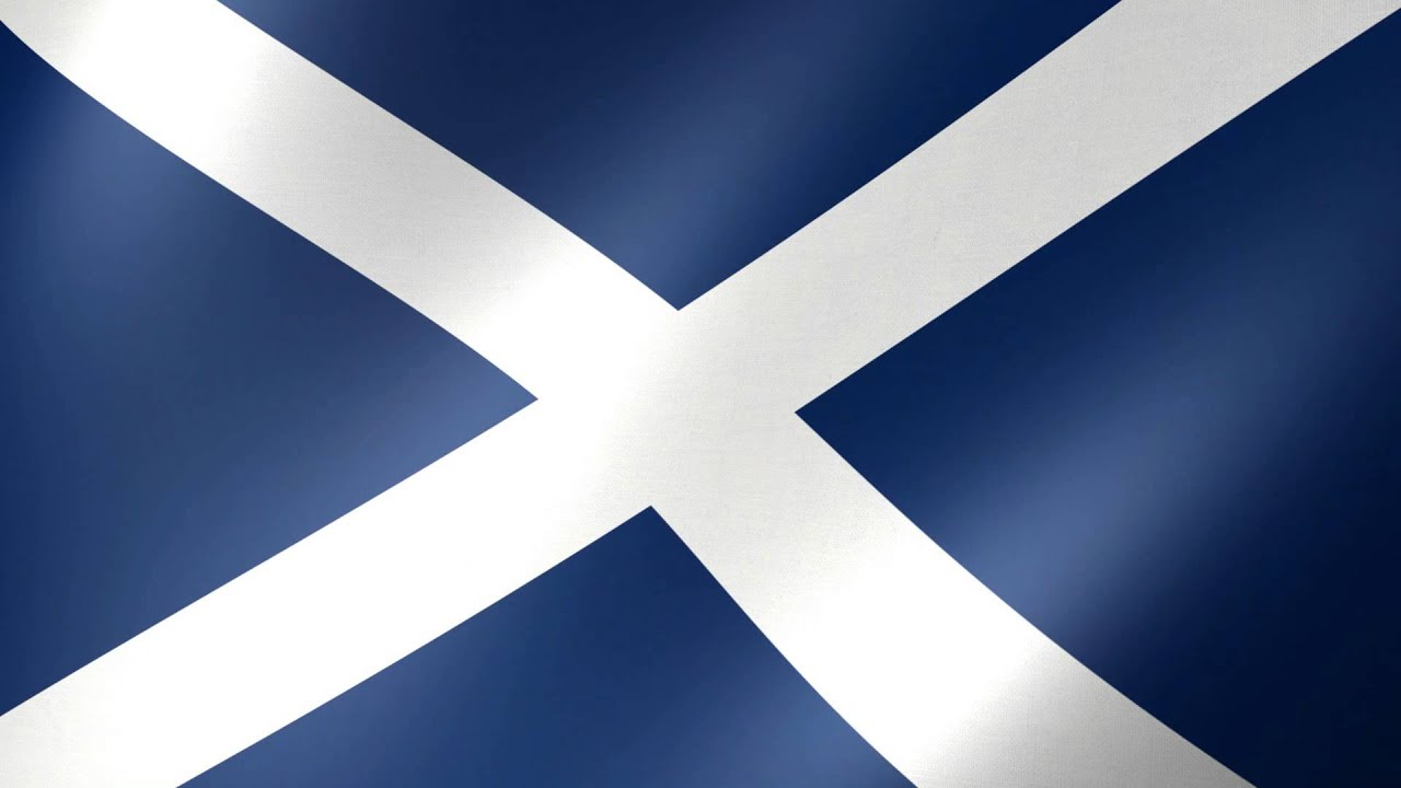 World Flags: Scotland - Free HD Stock Video - YouTube
