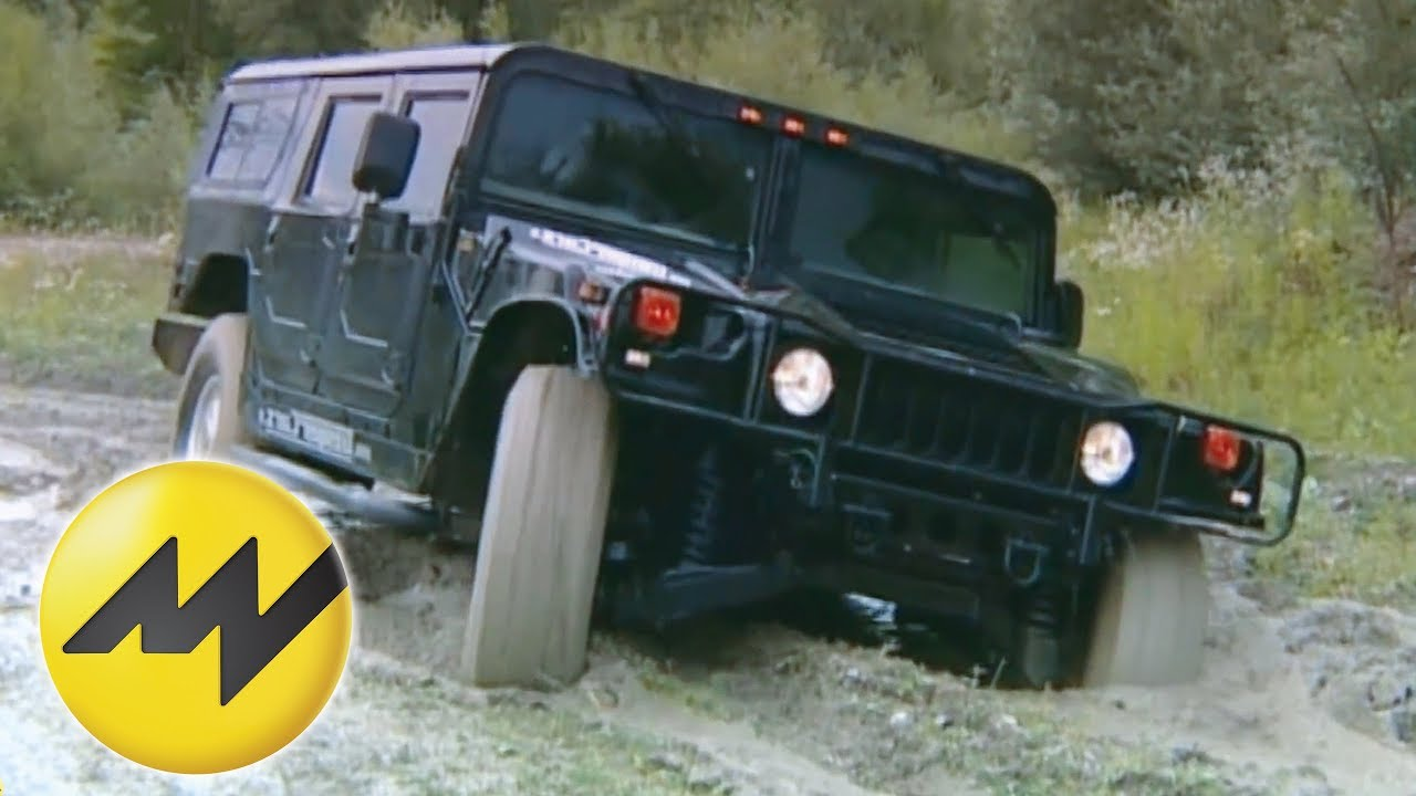 Hummer-Familie: Motorvision hat Hummer H113, H113 und H13 im harten Gelände  getestet | hummer off road video