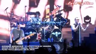 A7X AVENGED SEVENFOLD   A LITTLE PIECE OF HEAVEN live in Jakarta, Indonesia 2015
