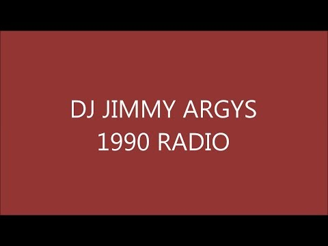DJ JIMMY ARGYS House Music On Radio 1990 (Archive)