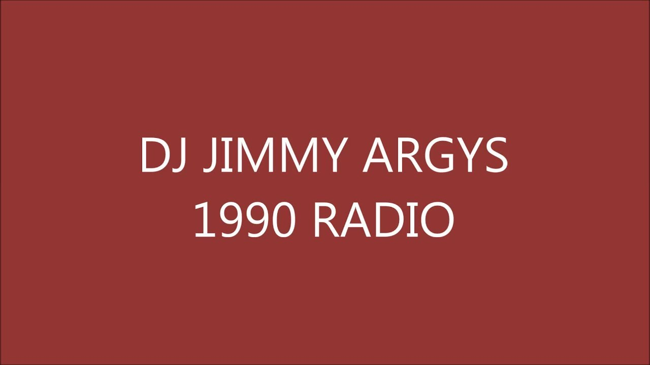 Dj jimmy argys house music on radio 1990 archive youtube for 1990 house music