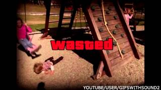 GTA 5 REAL LIFE WASTED | GIFS WITH SOUND 2 | GWS4ALL