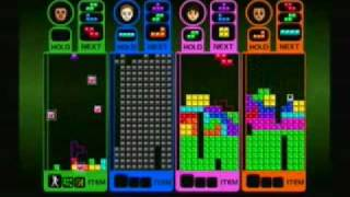 WiiWare: Tetris Party 4 Player