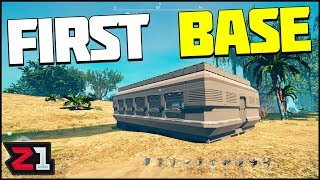 Perfect Base Location and FIRST BASE BUILD ! Planet Nomads Gameplay S2E3 | Z1 Gaming