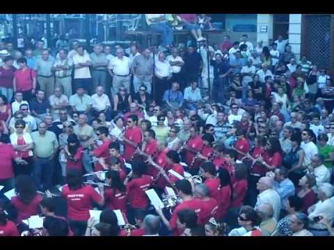 Pasodoble CIELO ANDALUZ. Sociedad Musical Ayorense [Ayora (Valencia) 14-8-2009 V].