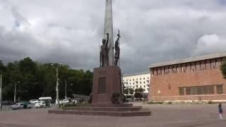 Смоленск.  Площадь Победы.   Smolensk. Victory Plaza.(Смоленск. Площадь Победы. Smolensk. Victory Plaza. --------Площадь Победы---------------- Первое своё название площадь получи..., 2016-08-14T18:00:00.000Z)
