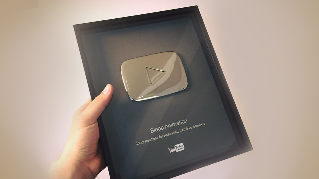Youtube Silver Play Button