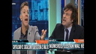 Javier Milei se la banca solo contra todos los Animales Zurdos- 19/09/18