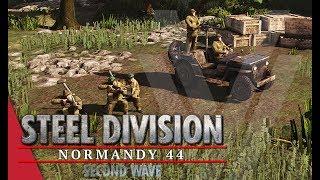 SECOND WAVE DLC! 1st SSB - Steel Division: Normandy 44 Gameplay (Pegasus Bridge, Very Hard AI)