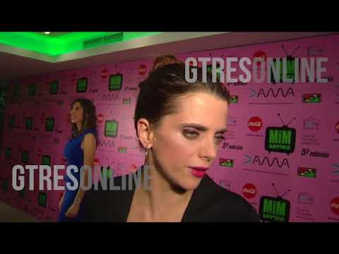 La actriz Macarena Gómez :