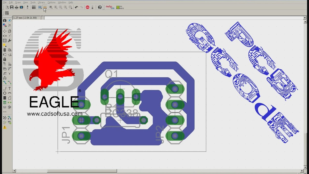 Funky Eagle Cad Software Free Download Pictures - Electrical Diagram ...