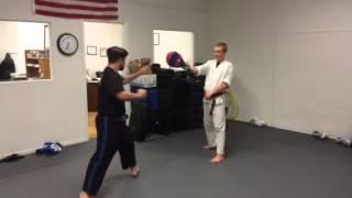 Kickboxing San Diego Hook Kick Spin Crescent