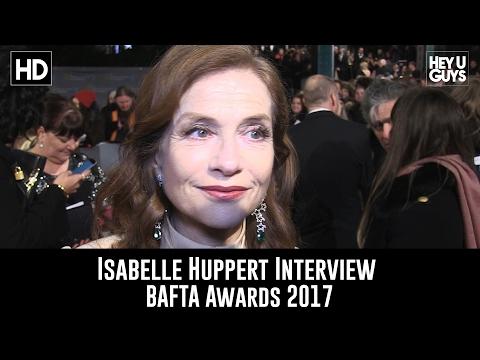 Isabelle Huppert Interview - BAFTA 2017