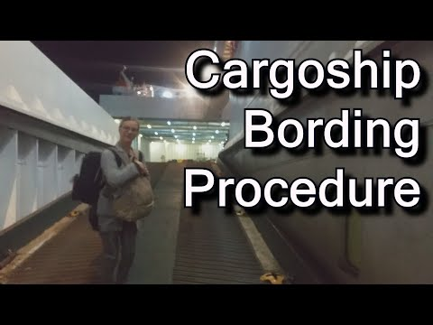 How to travel by cargo ship / container ship: freighter ship travel story from Georgia to Bulgaria