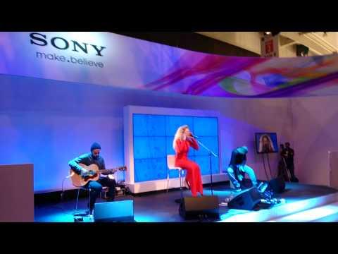 Rita Ora - Radioactive - Live At Sony VIP Party @ MWC 2013